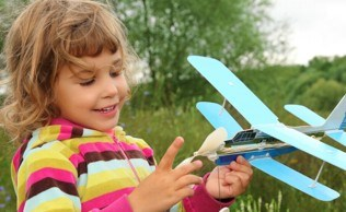 Camp toy plane